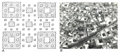 The fractal pattern of self-organizing urbanism. Image Courtesy of Nikos Salingaros